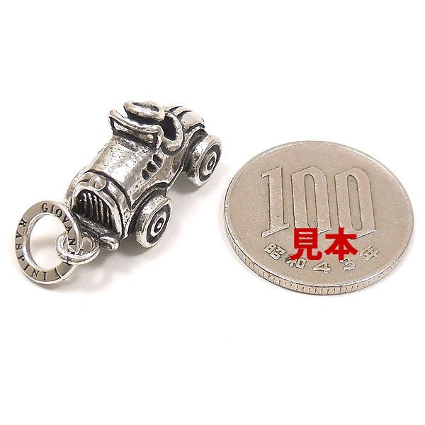 チャーム ペンダントトップ シルバー925 おもちゃ 自動車 イタリア製 CHARMS&Co. レディース メンズ entiere 06
