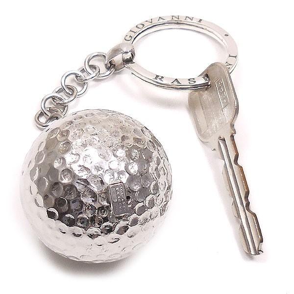 キーホルダー キーリング シルバー925 実物大ゴルフボール イタリア製 ジョバンニ・ラスピーニ メンズ entiere 06