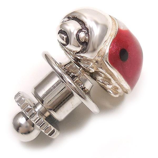 サツルノ ピンブローチ ラペルピン コッチネーラ てんとう虫 シルバー925 イタリア製 メンズ レディース 父の日 プレゼント ギフト|entiere|06