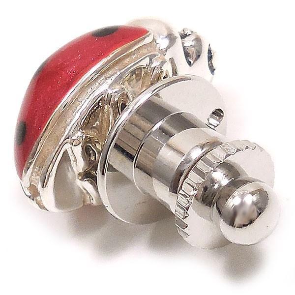 サツルノ ピンブローチ ラペルピン コッチネーラ てんとう虫 シルバー925 イタリア製 メンズ レディース 父の日 プレゼント ギフト|entiere|08