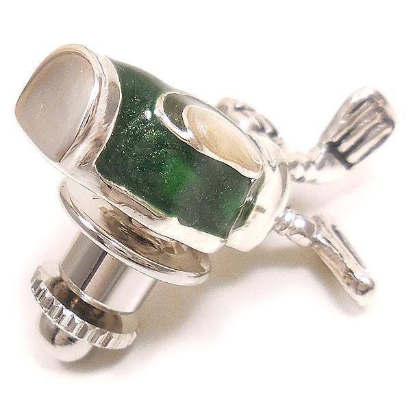 ピンブローチ ラペルピン シルバー925 ゴルフバッグ グリーン イタリア製 サツルノ メンズ レディース 父の日 プレゼント ギフト|entiere|04