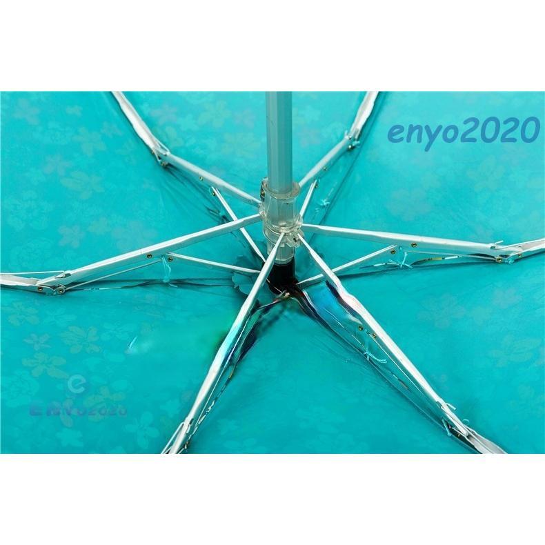 折りたたみ傘 レディース 軽量 UVカット 完全遮光 花柄 レース 姫傘 日傘 晴雨兼用 折り畳み 遮熱 遮光 紫外線 雨傘|enyo2020|05