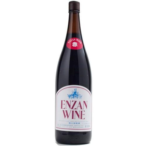 赤ワイン 赤ラベル (一升瓶)|enzanwine|02