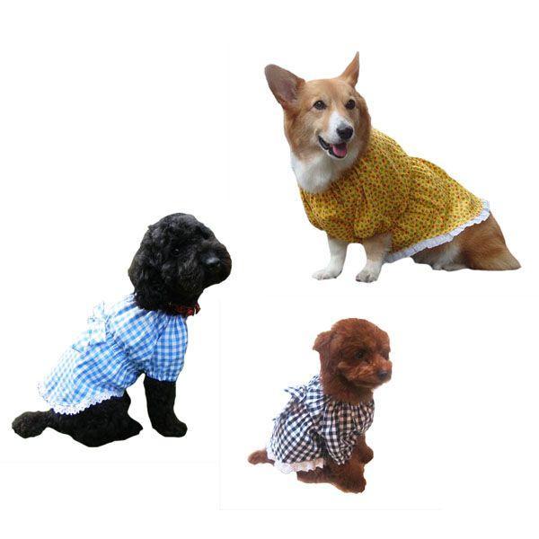 犬服型紙 チュニックワンピース 小型犬 小型犬ロング 中型犬 テキスト付き epatterncollection 03