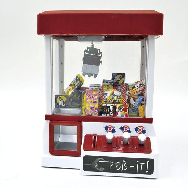 クレーンゲーム機+景品(お菓子120ヶ)