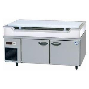パナソニック(旧サンヨー)舟形シンク付冷蔵庫型式:SUR-GL1561SB-S(旧SUR-GL1561SA-S)送料:無料(メーカーより直送):メーカー保証付