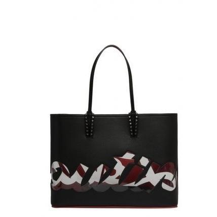 スペシャルオファ クリスチャンルブタン Louboutin ロゴ レザー Leather トートバッグ Christian Louboutin Logo Tote Tote Leather bag, 松尾村:b2cf6ac0 --- grafis.com.tr