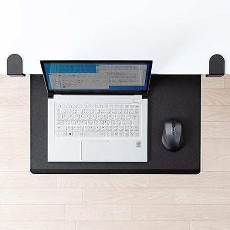 ノートパソコンスライダー 後付け 引き出し 机 キーボードスライダー 幅55cm 在宅勤務 テレワーク|ergs|19