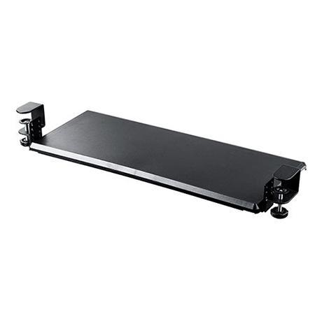 後付キーボードスライダー クランプ式 デスク設置 キーボード マウス収納対応 高さ変更可能 幅70cm|ergs|19