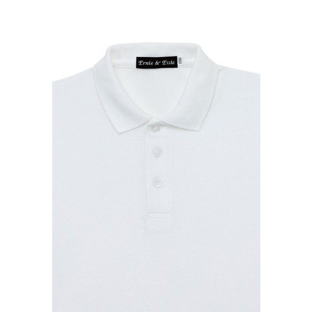 男児ポロシャツ オフ白 お受験 100110120130140  ernie-essie 02