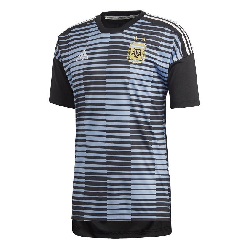 2018 FIFAワールドカップ アルゼンチン代表ナショナルチーム オフィシャルグッズ プレマッチユニフォーム