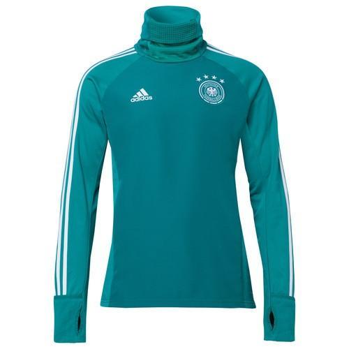 2018 FIFAワールドカップ ドイツ代表ナショナルチームオフィシャルグッズ ウォームアップロングシャツ 緑