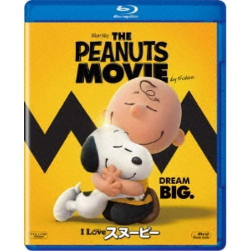 I LOVE スヌーピー THE Blu-ray 本物 MOVIE 訳あり PEANUTS