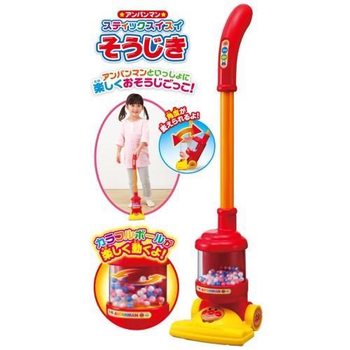 アンパンマン スティックスイスイそうじきおもちゃ こども 子供 女の子 ままごと ご予約品 3歳 ごっこ 出群
