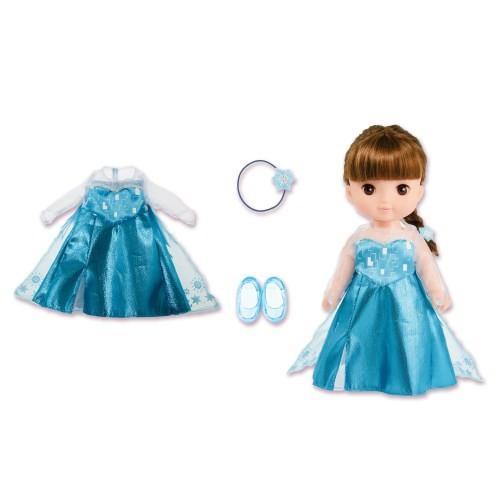 ずっとぎゅっと レミン 最新 ソラン エルサ 美品 ドレスセット おもちゃ こども 女の子 人形遊び 洋服 3歳 子供 アナと雪の女王