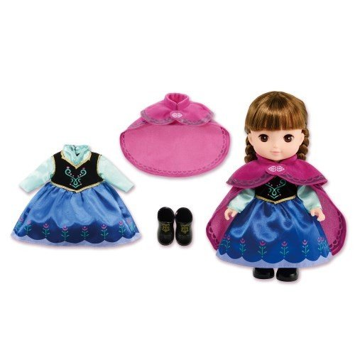 新入荷 お得クーポン発行中 流行 ずっとぎゅっと レミン ソラン アナ ドレスセット おもちゃ こども 3歳 洋服 アナと雪の女王 女の子 人形遊び 子供