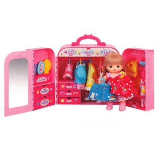 メルちゃん おかたづけばっちり 祝日 おしゃれクローゼット おもちゃ こども 家具 女の子 子供 中古 人形遊び