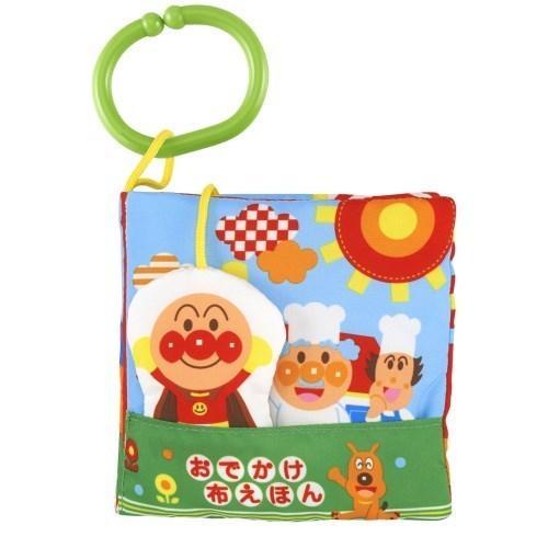ベビラボ アンパンマン 〜脳を育む〜おでかけ布えほん おもちゃ 人気 おすすめ こども ベビー 0歳 勉強 子供 知育 マーケティング