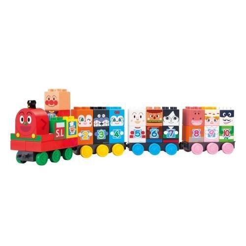 ブロックラボ SLマンと123 すうじブロックセット 価格交渉OK送料無料 おもちゃ こども 子供 知育 勉強 アンパンマン 1歳6ヶ月 お得セット