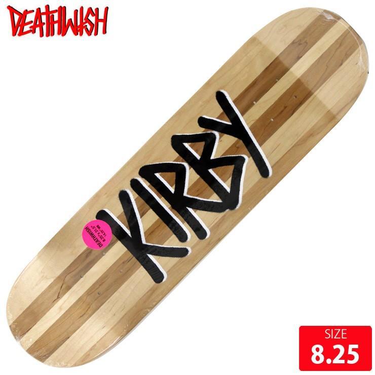 DEATHWISH デスウィッシュ デッキ KIRBY GANG NAME SPLIT DECK 8.25 スケートボード スケボー