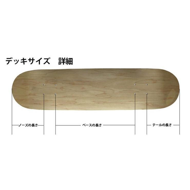 スケボー デッキ ブランク カラー BLANK NEO COLOR DECK 7.375-8.125 スケートボード デッキ スケボー eshop 06