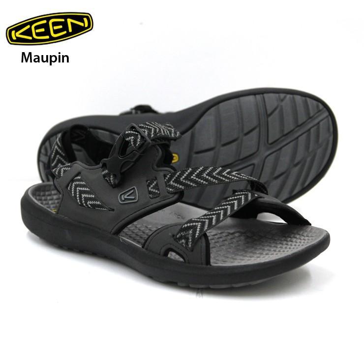 KEEN キーン Maupin マーピン Raven/Gargoyle メンズ スニーカー 靴 登山 ハイキング キャンプ アウトドア