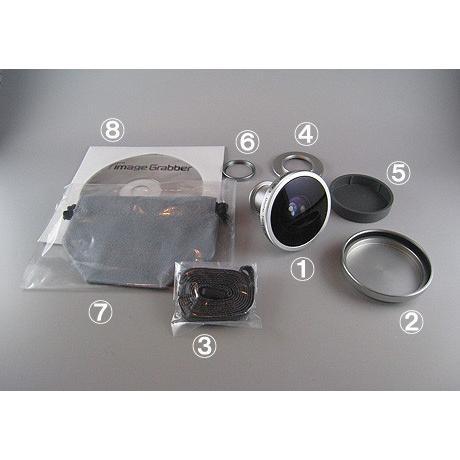魚眼レンズ コンパクトデジタルカメラ用魚眼レンズ IDF-3|eshopmtc|04