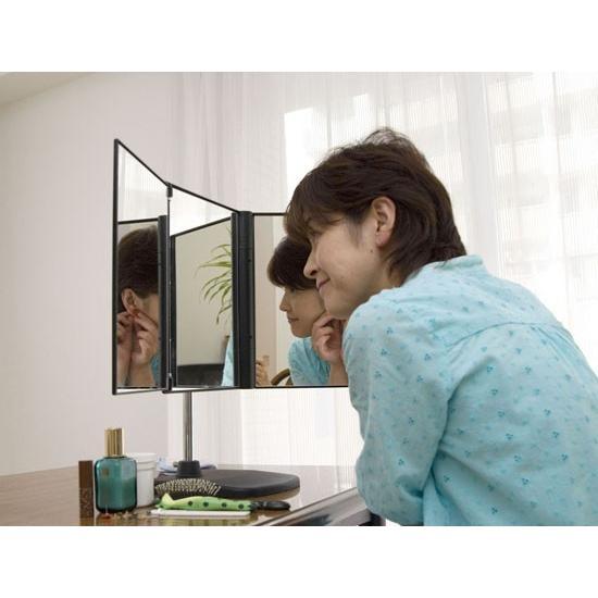 三面鏡 卓上型スタンド付三面鏡 セイルミラー MX-360ZS 送料込み eshopmtc 05