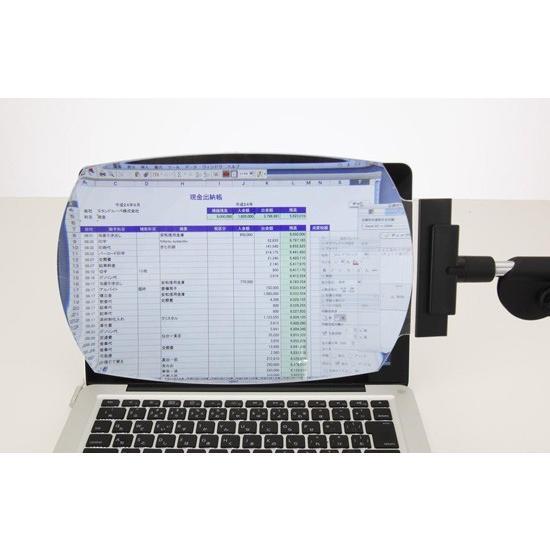 パソコン用ルーペ モニターレンズ ML-4000A 非球面ワイドレンズ使用|eshopmtc|05