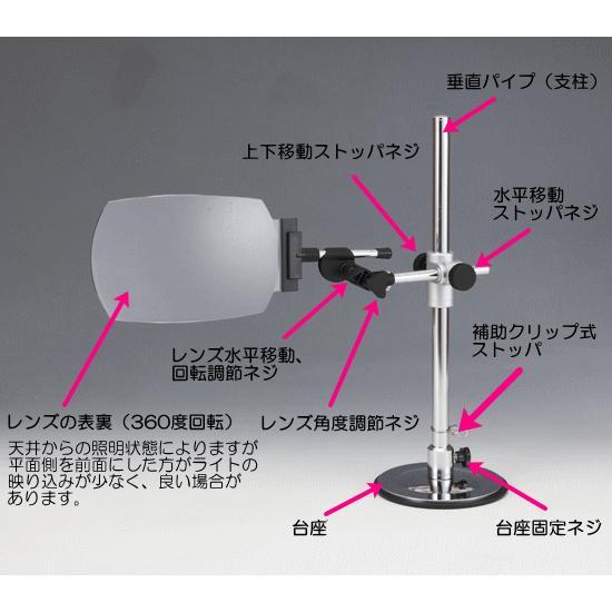 パソコン用ルーペ モニターレンズ ML-4000A 非球面ワイドレンズ使用|eshopmtc|06