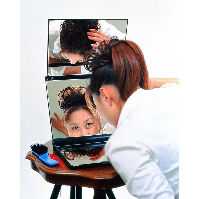 三面鏡 卓上式三面鏡スリーウェイミラー A4-M6|eshopmtc|04