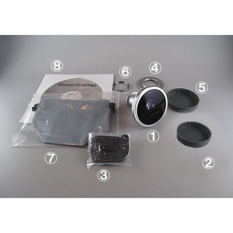 魚眼レンズ コンパクトデジタルカメラ用魚眼レンズ IDF-1|eshopmtc|06