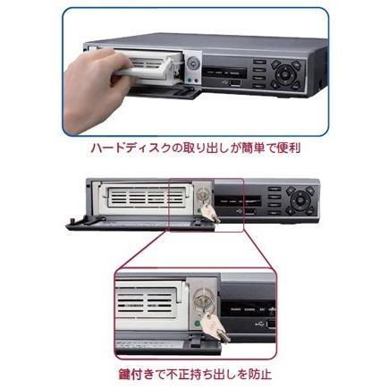竹中エンジニアリング デジタルレコーダー DVR-M402R(リムーバブルハードディスク別売) TAKEX|eshopmtc|02