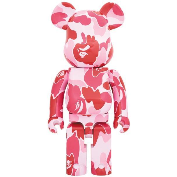 2019 BE@RBRICK BAPE ABC CAMO 1000% ピンク /ピンク 迷彩 ベアブリック APE エイプ