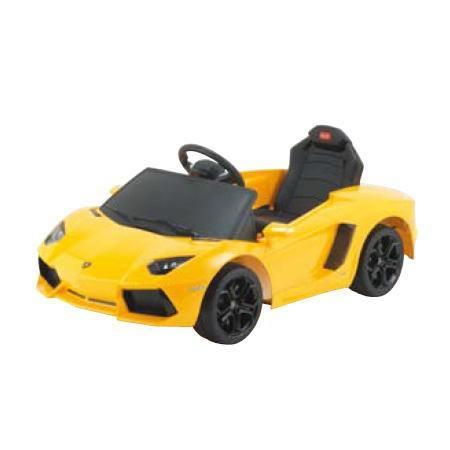 電動乗用玩具 ラジコンカー ランボルギーニ イエロー