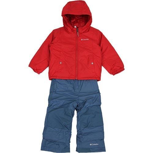 コロンビア(Columbia) キッズ スノーウェア ダブルフレーク セット MOUNTAIN 赤 3Tサイズ(100cm) SC1093 615 スキーウェア スノボウェア アウトドア eSPORTS PayPayモール店 - 通販 - PayPayモール