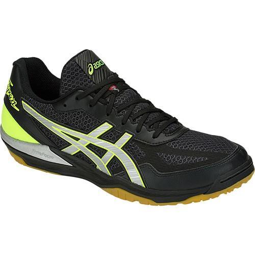アシックス(asics) メンズ レディース バレーボールシューズ ROTE JAPAN LYTE FF ブラック/シルバー 1053A002 016 バレーボール シューズ トレーニング 靴