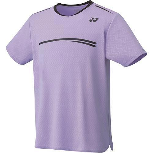 ヨネックス(YONEX) ジュニア テニスウェア ゲームシャツ ライトパープル 10277J 165 テニス バドミントン ユニフォーム 半袖 Tシャツ トップス 練習着