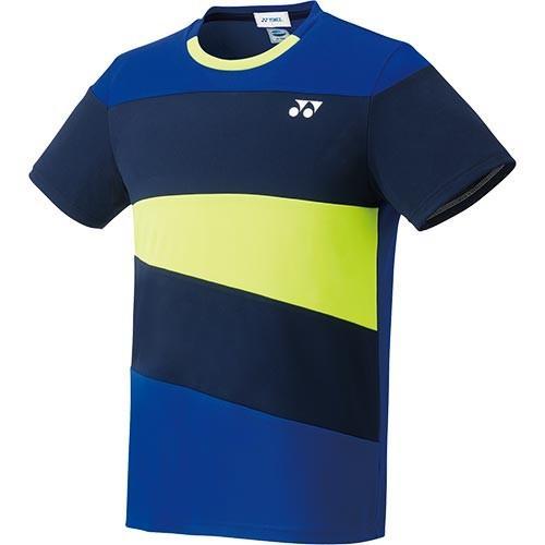 ヨネックス(YONEX) メンズ レディース テニスウェア ゲームシャツ フィットスタイル ミッドナイトネイビー 10314 472 テニス バドミントン ユニフォーム 半袖
