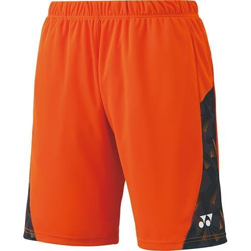 ヨネックス(YONEX) メンズ レディース テニスウェア ハーフパンツ オレンジ 15079 005 テニス バドミントン ゲームパンツ ユニフォーム ショートパンツ 短パン