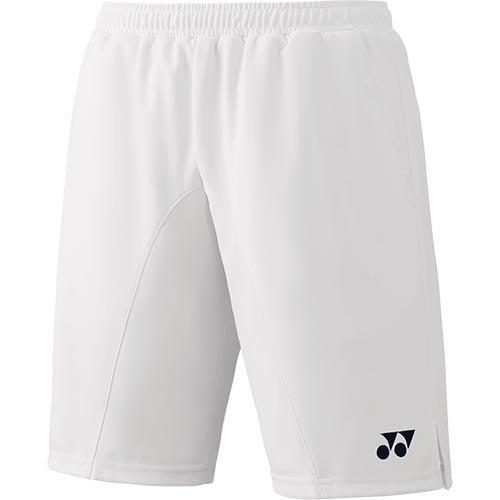 ヨネックス(YONEX) メンズ レディース バドミントンウェア ハーフパンツ ホワイト 15081 011 テニス バドミントン ゲームパンツ ユニフォーム ショートパンツ