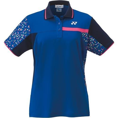 ヨネックス(YONEX) レディース テニスウェア ゲームシャツ ミッドナイトネイビー 20486 472 テニス バドミントン ユニフォーム 半袖 ポロシャツ トップス