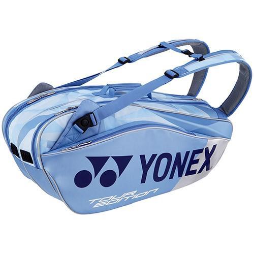 ヨネックス(YONEX) ラケットバッグ6 リュック付き テニス6本用 クリアーブルー BAG1802R 525 リュックサック 鞄 遠征 部活 試合