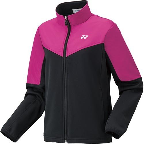 ヨネックス(YONEX) レディース テニスウェア ニットウォームアップシャツ ルージュピンク 58086 124 長袖 ジャケット プラクティス バドミントン