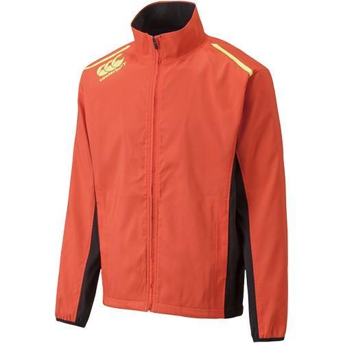 カンタベリー(CANTERBURY) ストレッチ ウインドジャケット オレンジ RG77511 58 ラグビー トレーニングウェア ウインドブレーカー メンズ