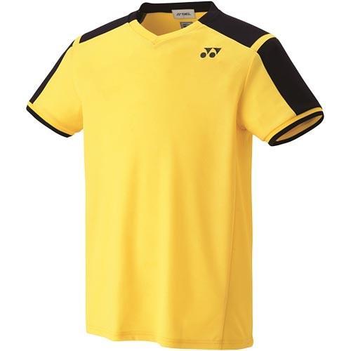 ヨネックス(YONEX) キッズ テニス ゲームシャツ ライトイエロー 10271J 279 テニスウェア バドミントンウェア スポーツウェア 半袖 トレーニングウェア