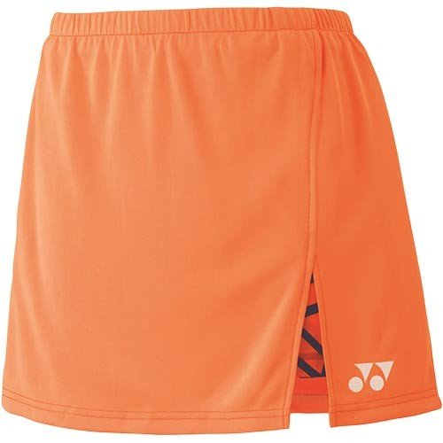 ヨネックス(YONEX) レディース テニス スカート ブライトオレンジ 26043 160 テニスウェア バドミントンウェア スポーツウェア トレーニングウェア スコート