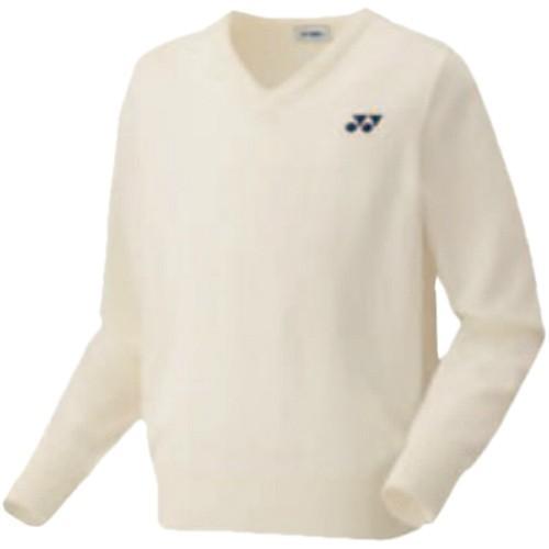 ヨネックス(YONEX) セーター オフホワイト 32014 200 テニスウェア トップス メンズ レディース 長袖