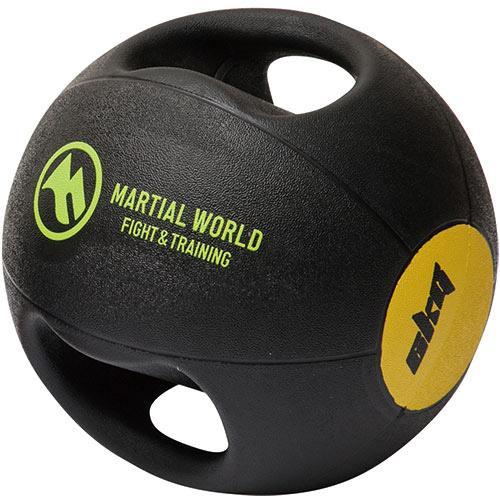 マーシャルワールド(MARTIAL WORLD) メディシンボール ダブルグリップタイプ 6kg MB6 格闘技用品 トレーニング用品