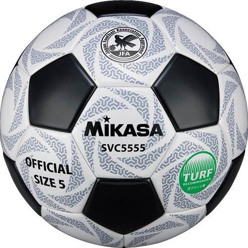 ミカサ(MIKASA) サッカー 5号 検定球 貼り 白/黒 SVC5555-WBK 公式試合球 サッカーボール 中学生 高校生 大学生 一般用